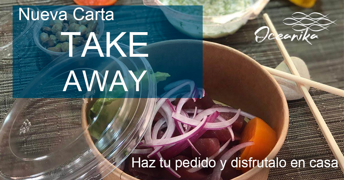 Carta Take Away oceanika