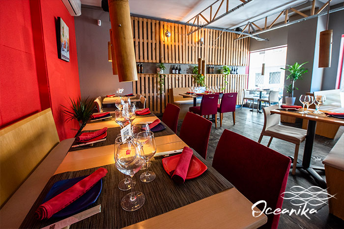 oceanika madrid restaurante